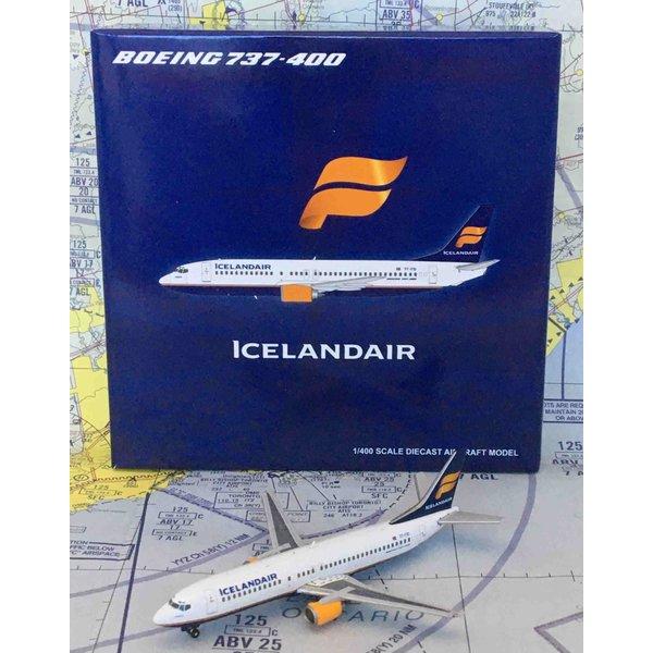 JC Wings B737-400 icelandair TF-FID 1:400 with antenna