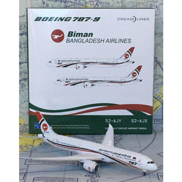 JC Wings B787-9 Dreamliner Biman Bangladesh S2-AJY 1:400 flaps