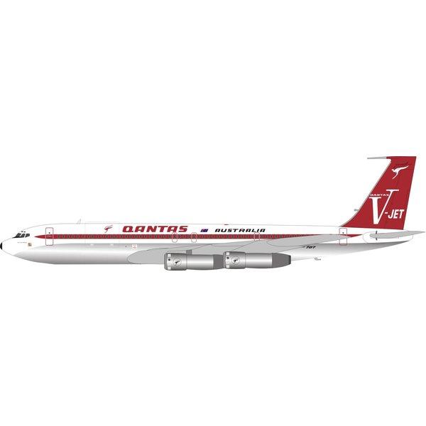 InFlight B707-300 QANTAS V-jet VH-EAI 1:200 polished