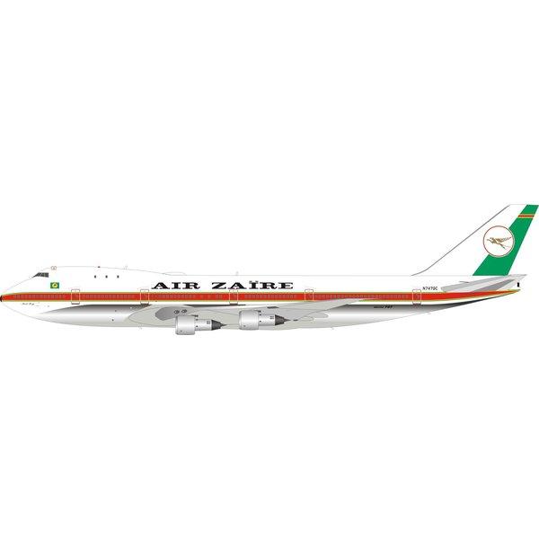 InFlight B747-100 Air Zaire N747QC 1:200 polished