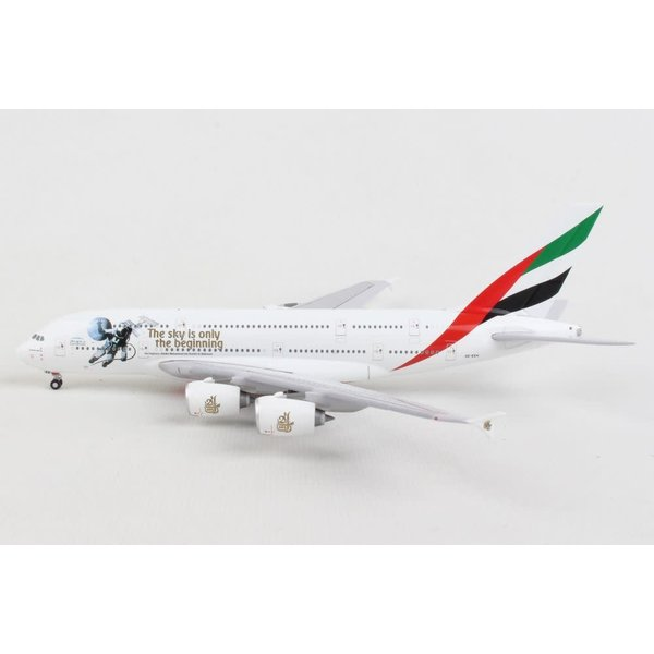 Gemini Jets A380-800 Emirates UAE in Space livery A6-EEH 1:400