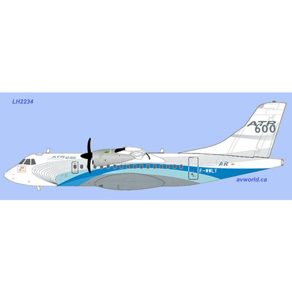 JC Wings ATR42-600 ATR house livery F-WWLY 1:200