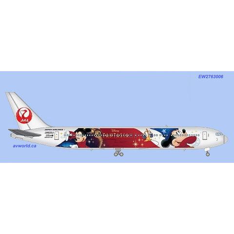 B767-300ER Japan Airlines (special delivery) JA622J 1:200