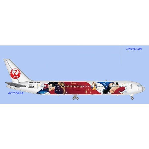 JC Wings B767-300ER Japan Airlines (special delivery) JA622J 1:200