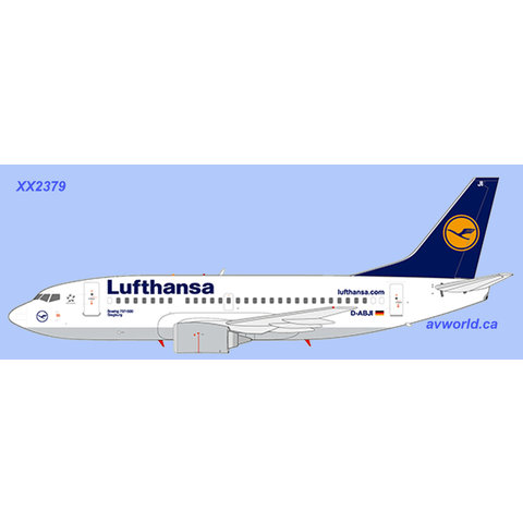 B737-500 Lufthansa D-ABJI 1:200 with stand