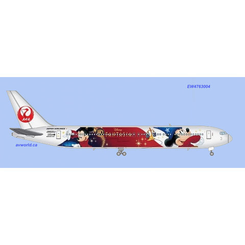 B767-300ER JAL Special Delivery JA622J 1:400 +Preorder+