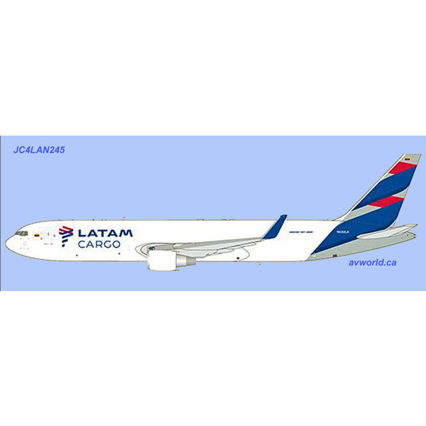 JC Wings B767-300ERF LATAM Cargo N532LA 1:400