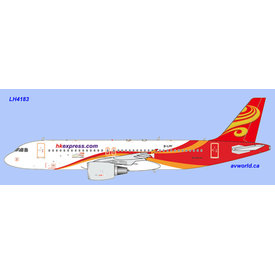 JC Wings A320-200 B-LPF HK Express Hainan livery 1:400