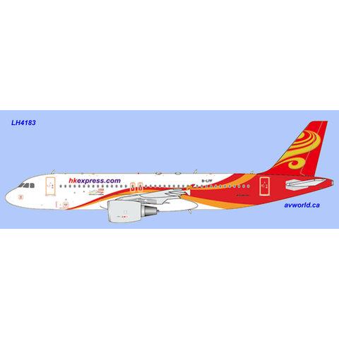 A320-200 B-LPF HK Express Hainan livery 1:400