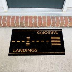 Sporty's Doormat Takeoffs and Landings
