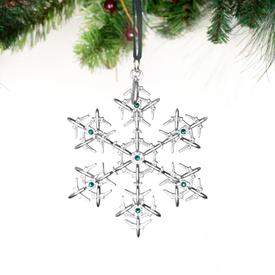 Boeing Store Boeing Jet Snowflake 2020 Swarovski® Ornament