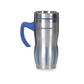Boeing Store Jet Engine With Handle Stainless Steel Tumbler