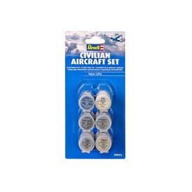 Revell Germany Civilian Aircraft Acrylic Paint Set [6 shades]