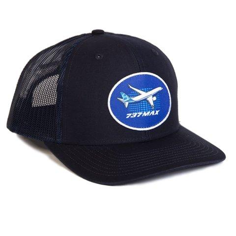 737 Max Illustrated Hat