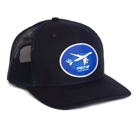 747-8 Illustrated Hat