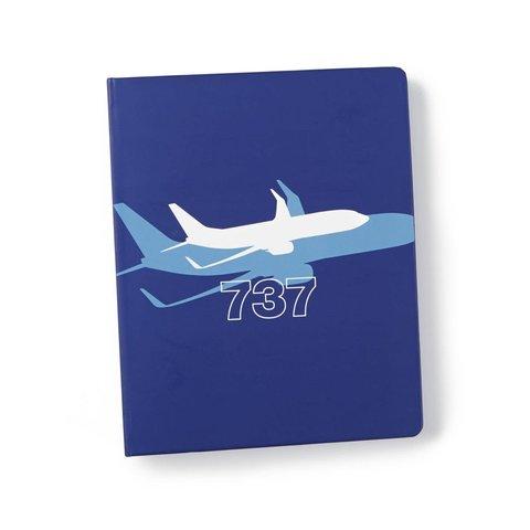 Boeing 737 Dreamliner Shadow Graphic Notebook