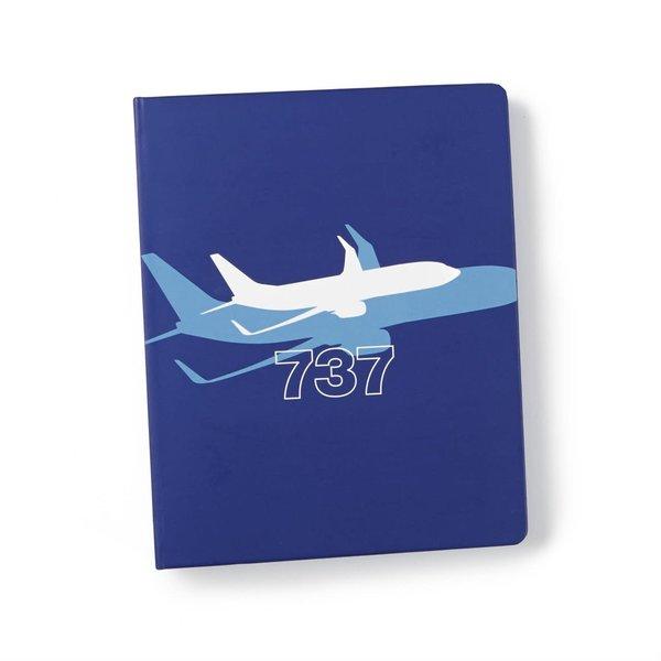 Boeing Store Boeing 737 Dreamliner Shadow Graphic Notebook