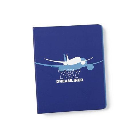 Boeing 787 Dreamliner Shadow Graphic Notebook