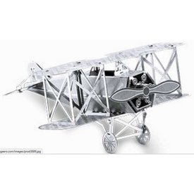 3D Laser Cut Model Fokker Biplane