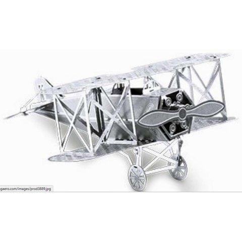 3D Laser Cut Model Fokker Biplane