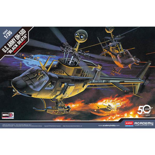 Academy Bell OH58D 'Black Death' US Army 1:35 [Ex-MRC]