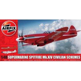 Airfix Spitfire Mk.XIV Civilian Schemes 1:48