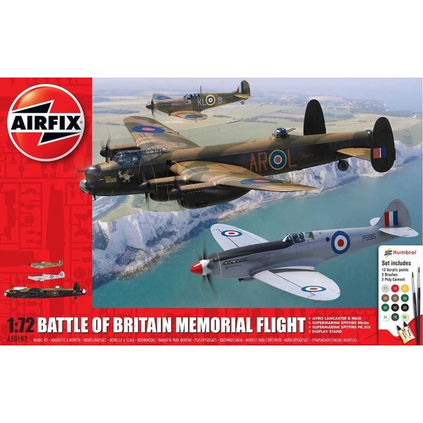 Airfix Battle of Britain Memorial Flight 1:72 w/Lancaster & Spitfires
