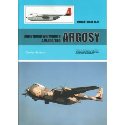 Armstrong Whitworth AW650/660 Argosy: Warpaint #71 SC +NSI+
