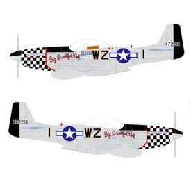 Air Force 1 Model Co. P51D Mustang 78FG Big Beautiful Doll Landers  WZ-I 1:72 +Preorder+
