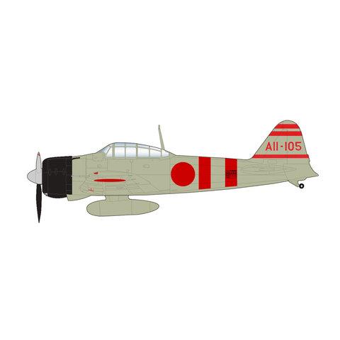 A6M2 Zero Lt. Yoshio Shiga IJN Carrier Kaga, December 1941 1:48 +Preorder+