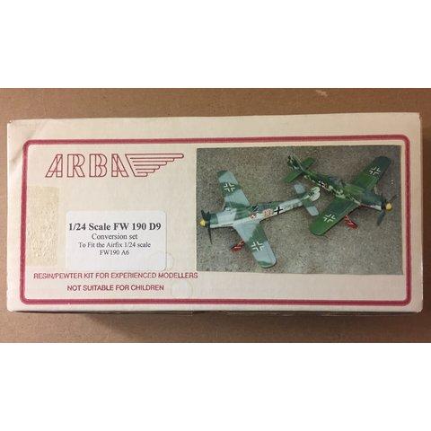 ARBA FW190D-9 Conversion set 1:24 for AIRFIX kit