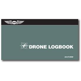 ASA - Aviation Supplies & Academics Standard Drone Logbook softcover