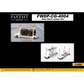 JC Wings Main Deck Loader Set 1:400 +Preorder+