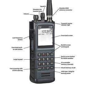 Sporty's PJ2 Handheld COM Radio