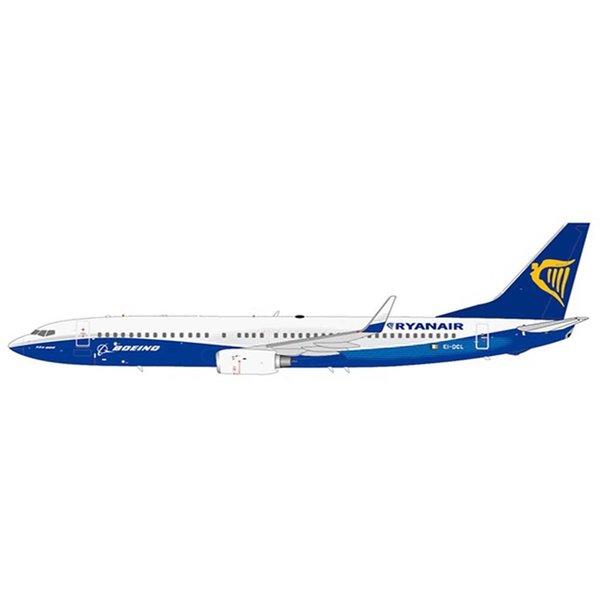 JC Wings B737-800W Ryanair Boeing House c/s EI-DCL 1:200 flaps +Preorder+