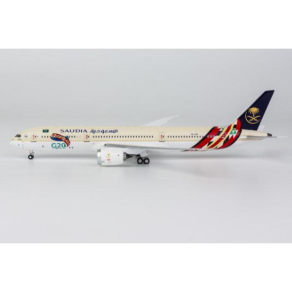 NG Models B787-9 Dreamliner Saudia HZ-ARF G20 2020 1:400