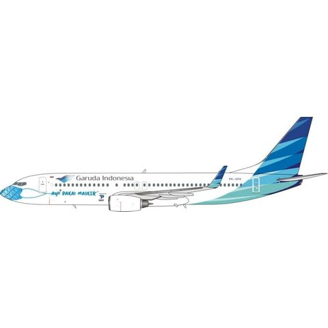 B737-800W Garuda Mask #3 PK-GFK 1:400 +Preorder+