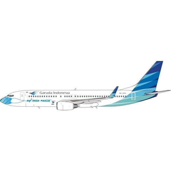 Phoenix B737-800W Garuda Mask #3 PK-GFK 1:400 +Preorder+