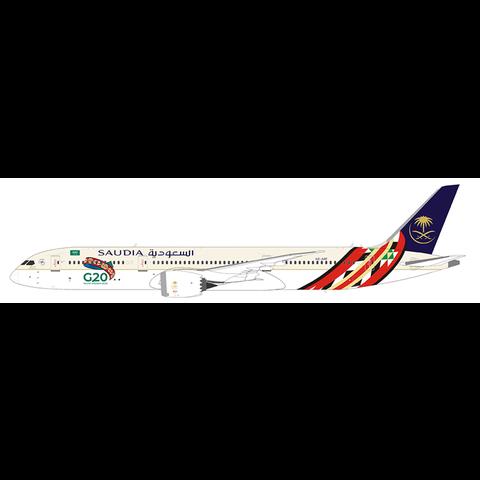 B787-9 Dreamliner Saudia G20 HZ-ARF 1:400