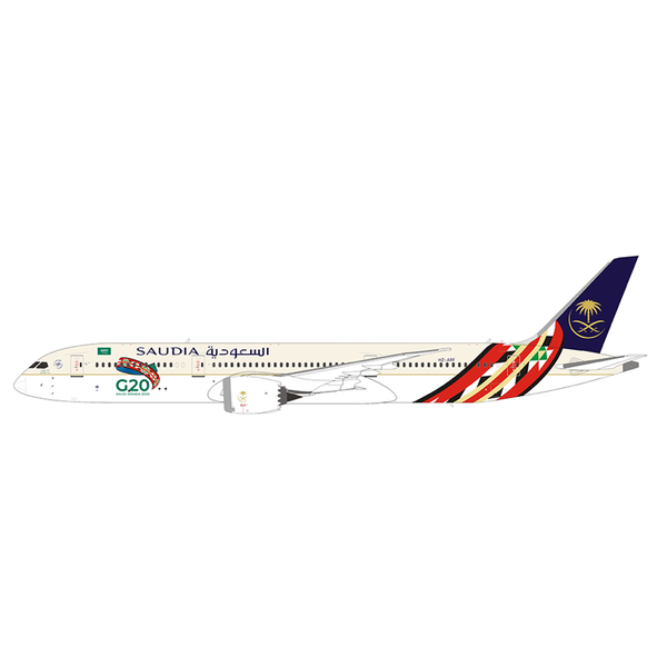JC Wings B787-9 Dreamliner Saudia G20 2020 HZ-ARF 1:400 +Preorder+