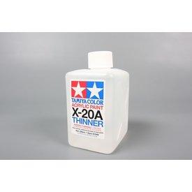 Tamiya Acrylic Paint 250ml X-20a Solvent [Thinner]