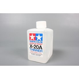 Tamiya Acrylic Paint Thinner Solvent 250ml X-20a