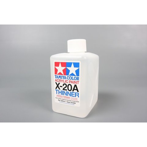 Acrylic Paint Thinner Solvent 250ml X-20a