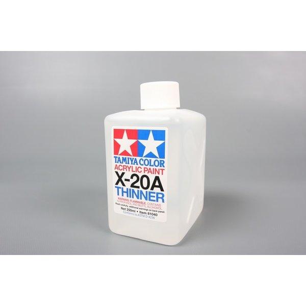 Tamiya Acrylic Paint Thinner Solvent 250ml X-20a
