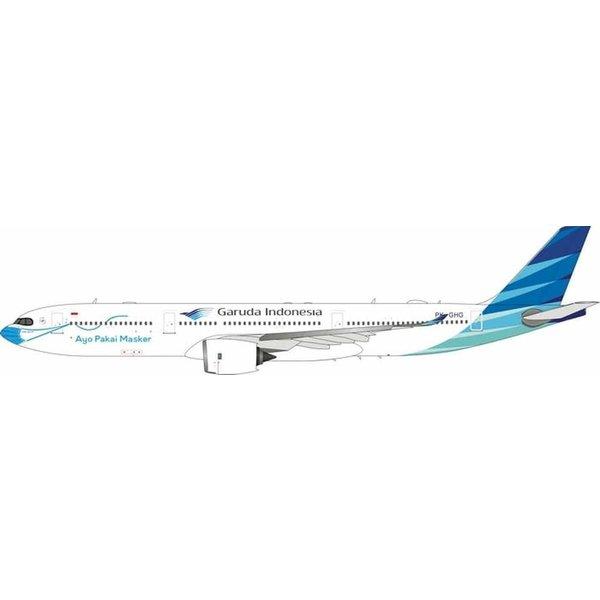 JC Wings B737-800W Garuda Ayo Pakai Masker PK-GFQ 1:400 +Preorder+