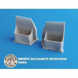 Iroquois CF-105 Avro Arrow Intakes 1:48 for Hobbycraft kit HC1659 only