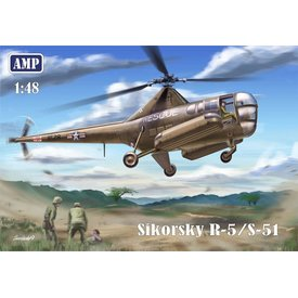 AMP Sikorsky R-5/S-51 USAF Rescue Helicopter 1:48