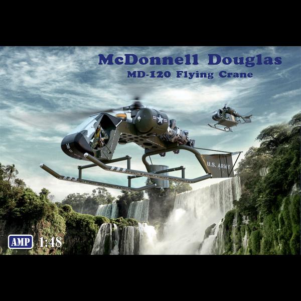 AMP McDonnell Douglas MD-120 Flying Crane 1:48