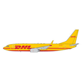 Gemini Jets B737-800BDSF DHL N737KT red/yellow 1:400