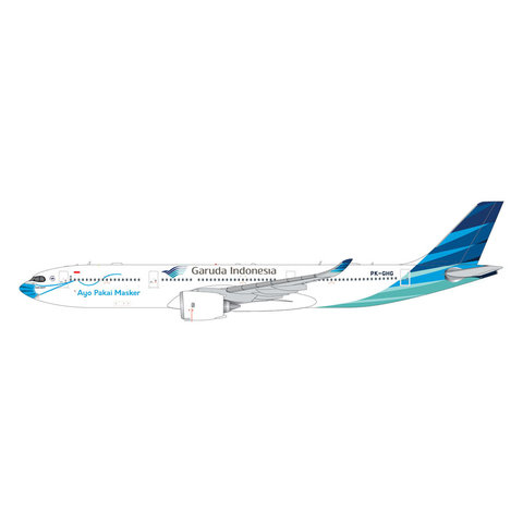 A330-900neo Garuda Ayo Pakai Maskar PK-GHG 1:400